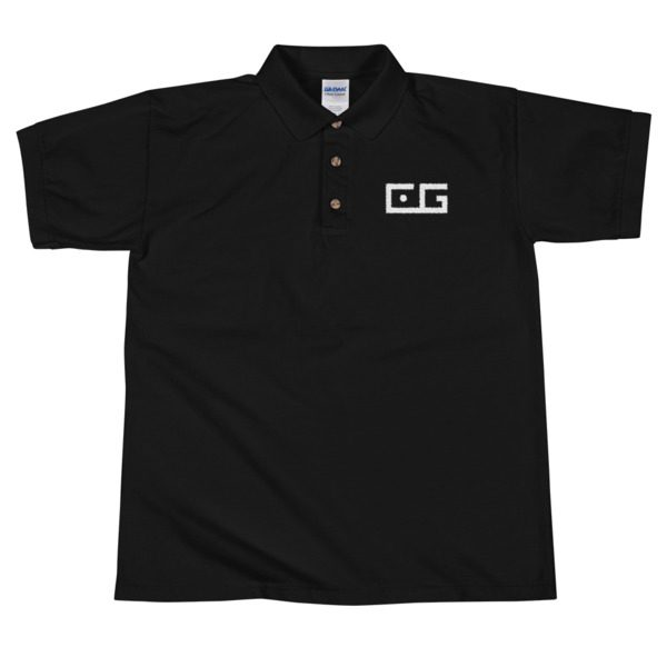 CyberGameway embroidered Polo Shirt