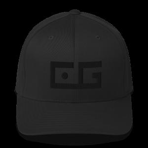 CG Black Puff Embroidered Cap