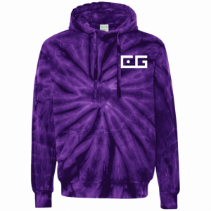 CG Tie-Dyed Pullover Hoodie