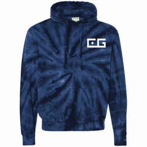 CG Tie-Dyed Pullover Hoodie