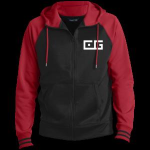 CG Full-Zip Hooded Jacket White Logo
