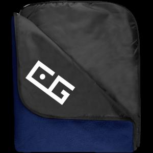 CG Fleece & Poly Travel Blanket