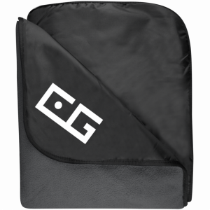 CG Fleece & Poly Travel Blanket
