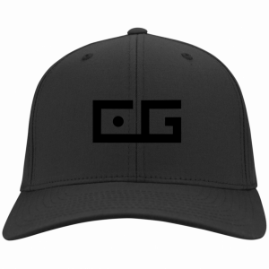 CG Embroidered Hat Black